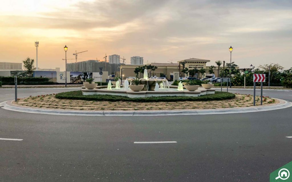 Mira Town Centre in Reem