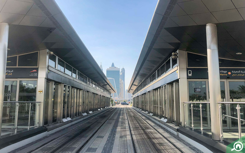 Dubai Tramway near al sufouh 1