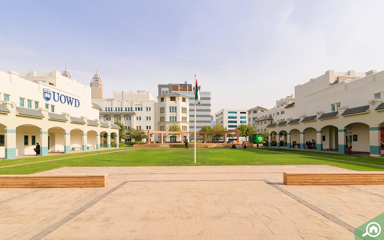 uowd university in al sufouh 1