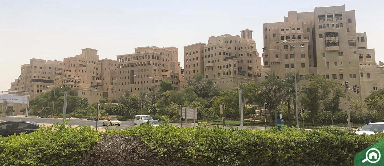 living in al badia residences