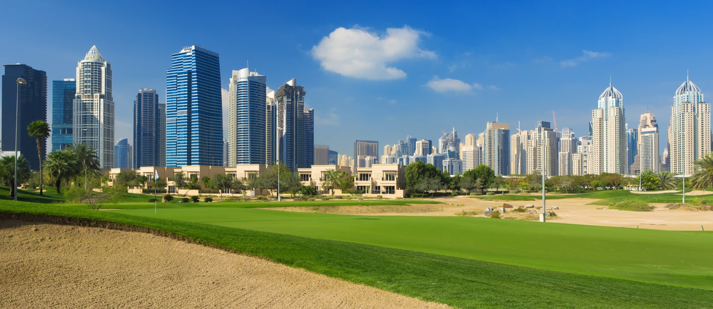 living in emirates golf club residences