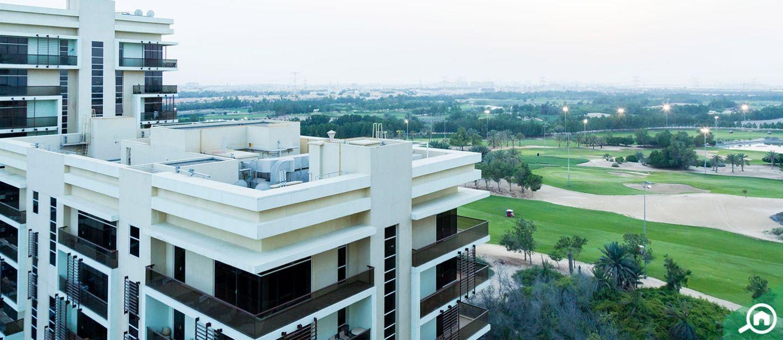 living in golf gardens khalifa city a