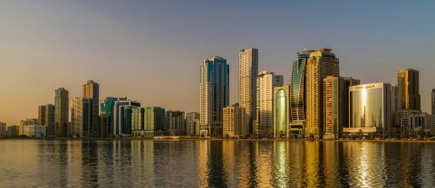 Blue Bay Walk, Sharjah Waterfront City