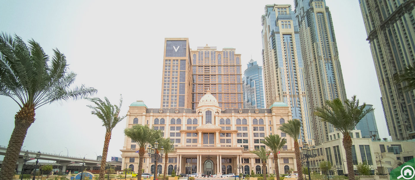 living in al habtoor city