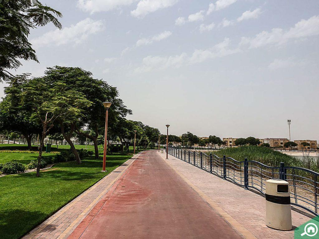 Al Quoz Pond Park near Meydan City