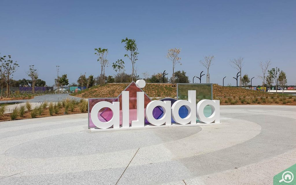 Aljada community by arada