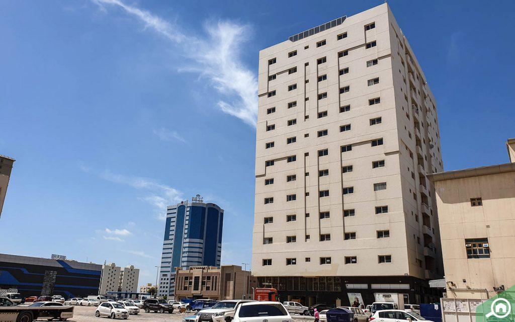 مباني سكنية في صناعية عجمان