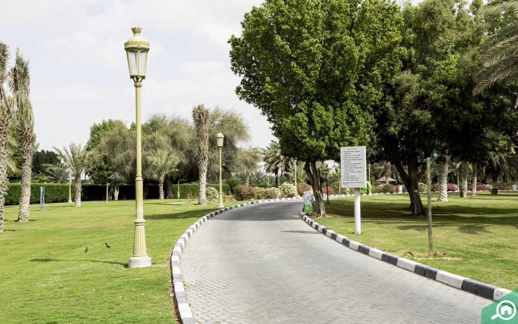 Sharjah National Park near Al Rahmaniya