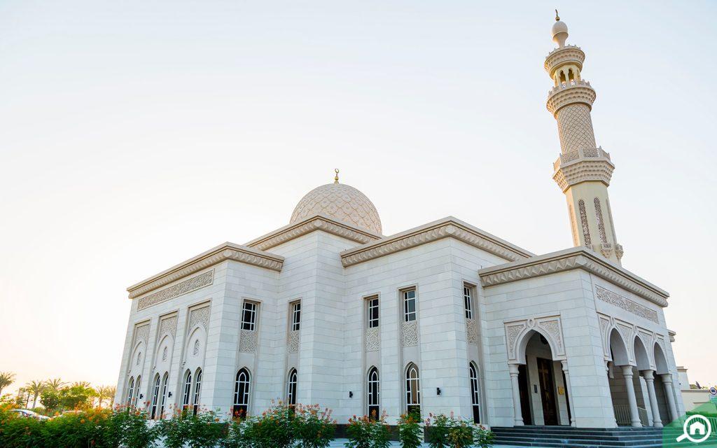 mosque near arabian ranches 3