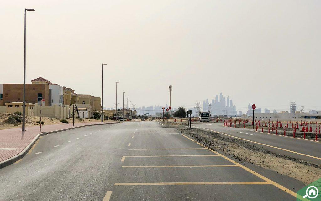 شارع فرعي في البرشاء