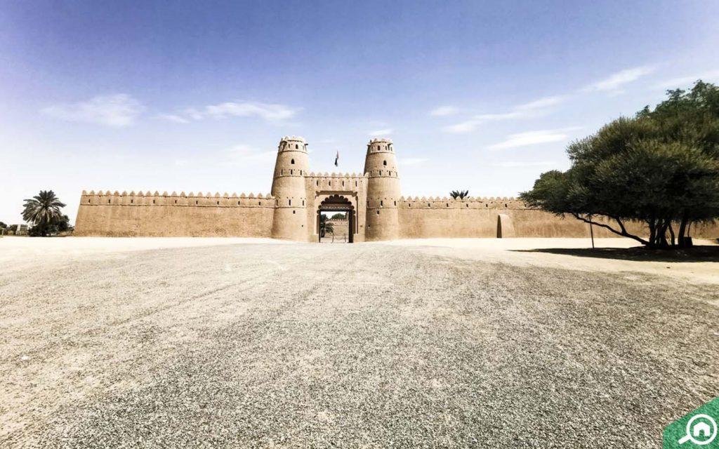 A view of Al Jahili Fort