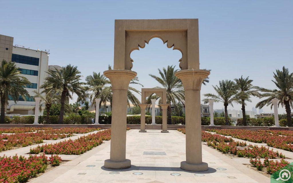 Al Mina garden
