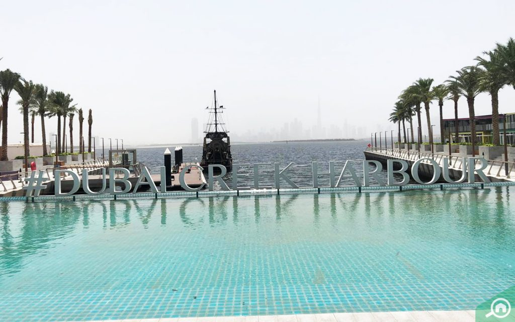 Dubai Creek Harbour community