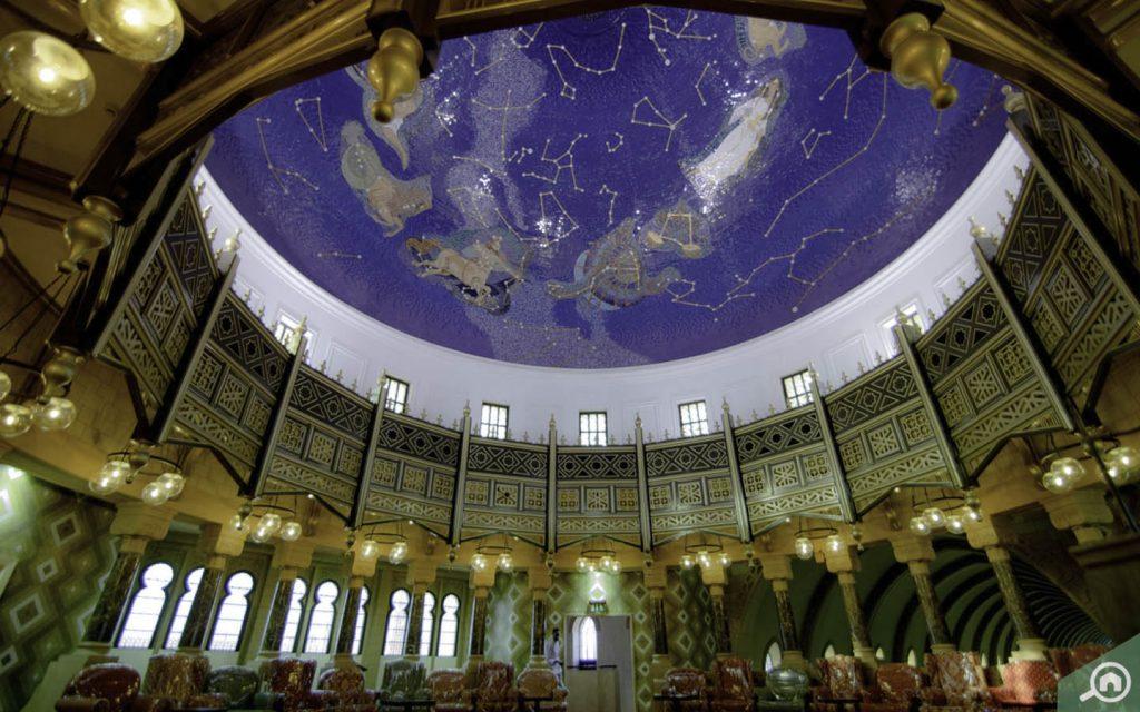 Inside view of Sharjah Museum of Islamic Civilisation