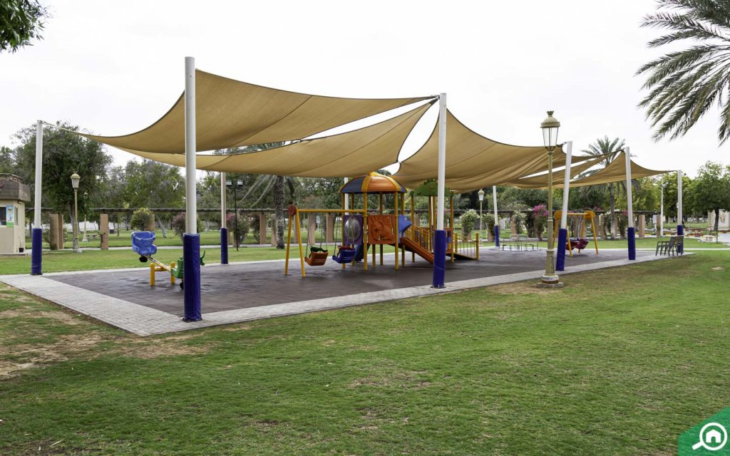 play areas in sharjah national park