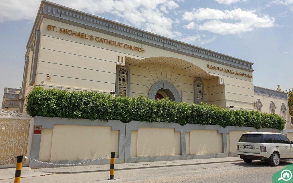 St. Michael's Catholic Church sharjah