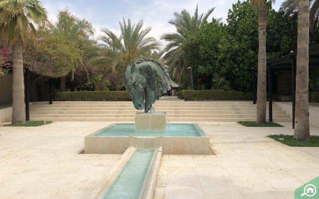 desert palm and polo club in al warsan