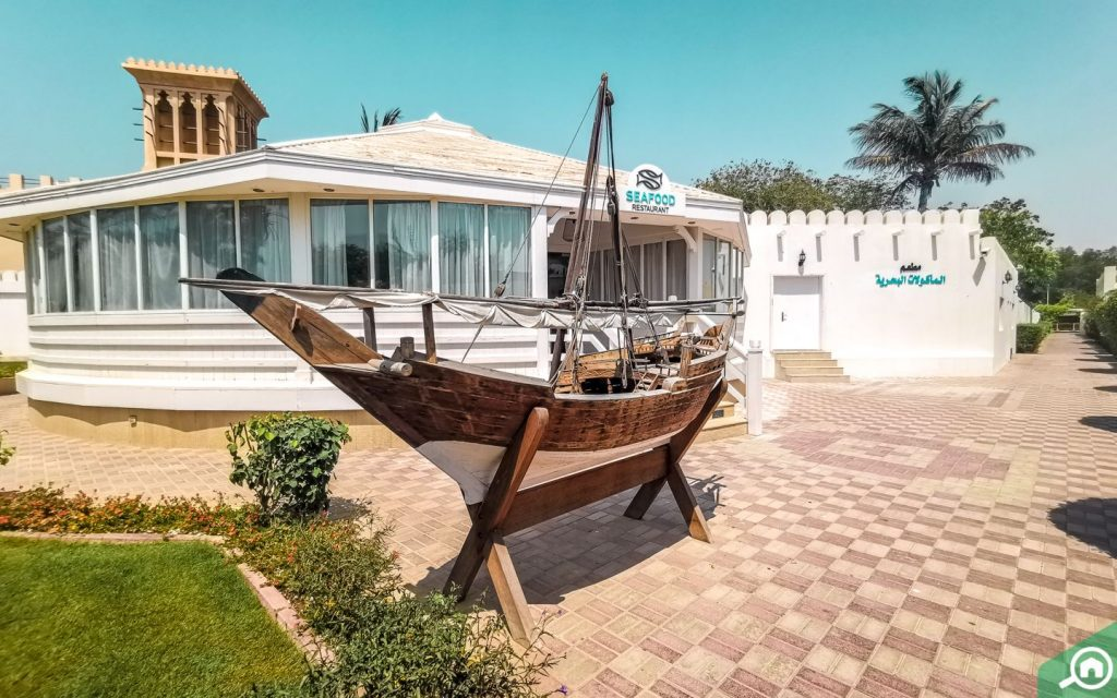 Sea Food Restaurant in Al Hamra Beach Resort