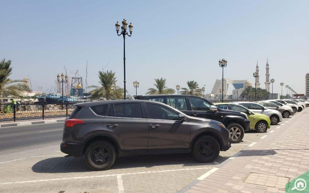 parking spaces in Al Nabba