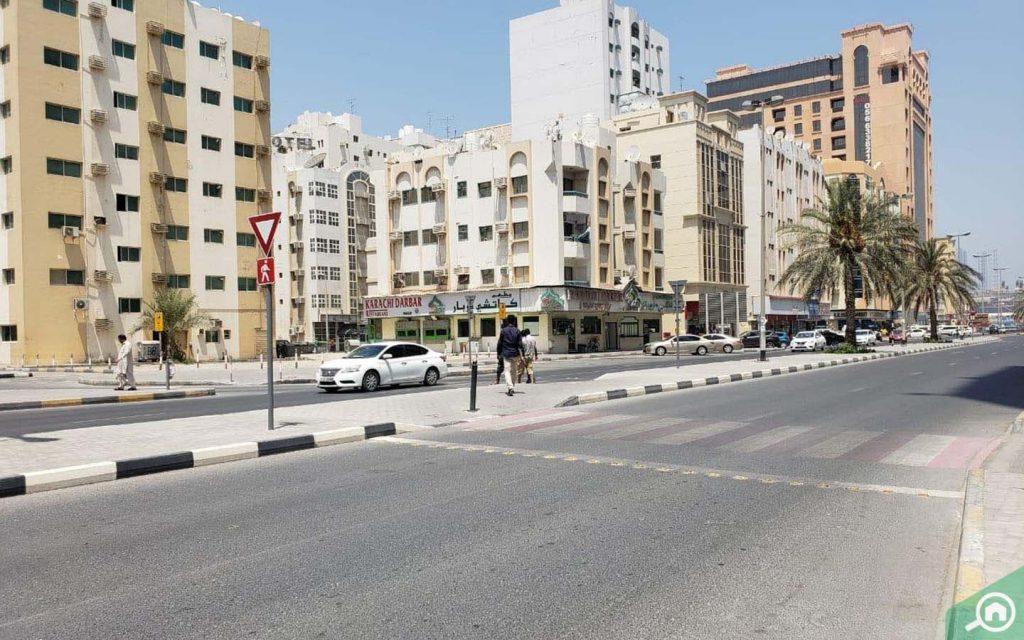 buildings in al nabba