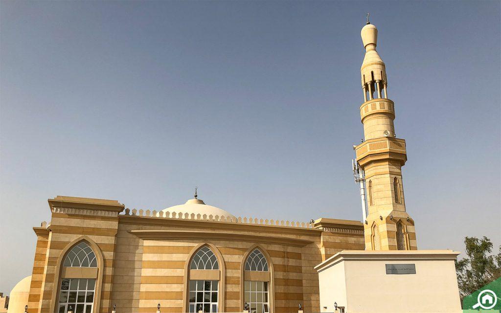 مسجد مميز التصميم