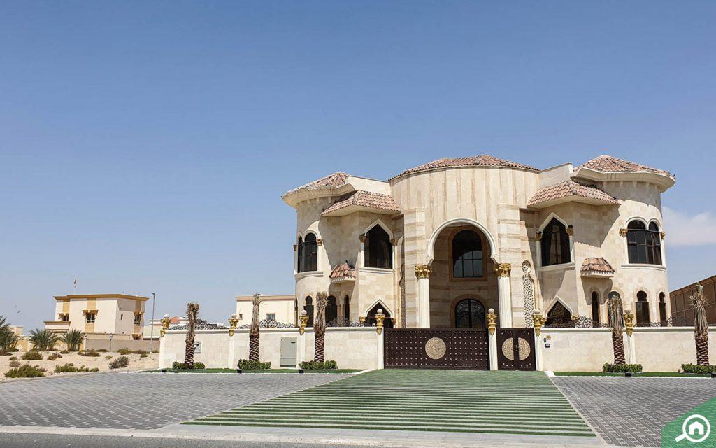 فيلا للايجار في الراشدية دبي
