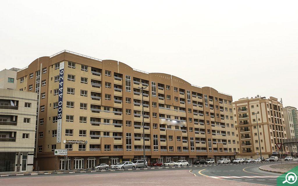 مبنى سكني منخفض الارتفاع