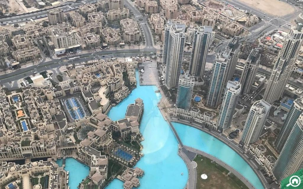 view from at the top burj khalifa