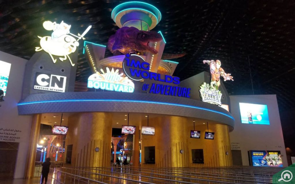 img worlds of adventure near spring arabian ranches 3