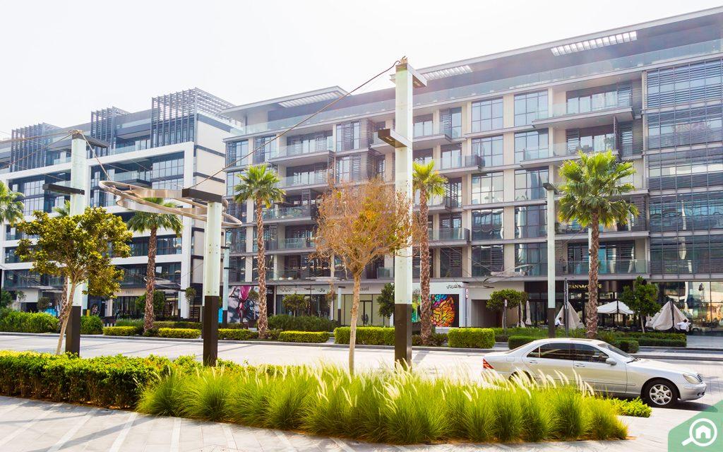 residential buildings City Walk