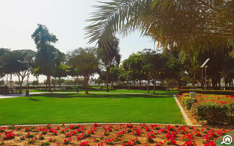 حديقة ند الحمر
