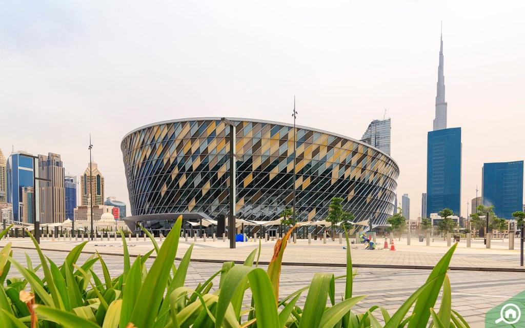 Dubai coca cola arena city walk