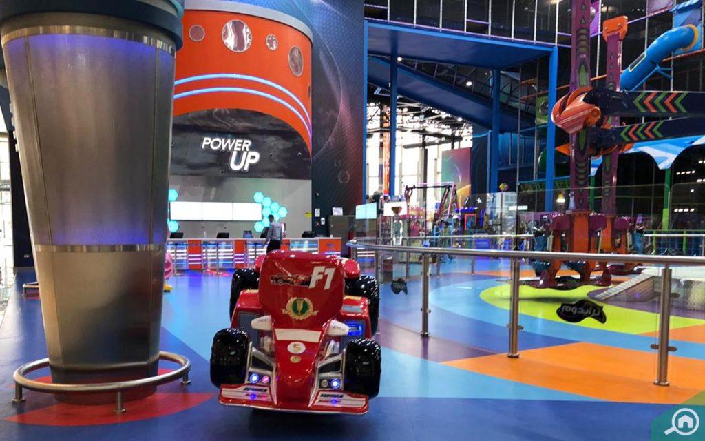 Tridom play area in manar mall