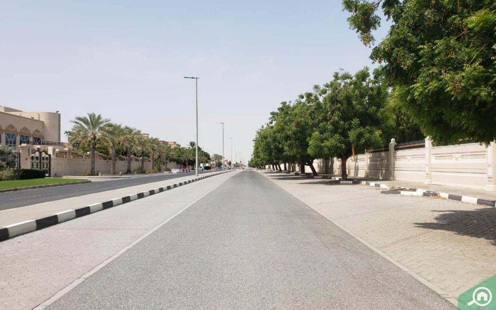 شارع في الفلج
