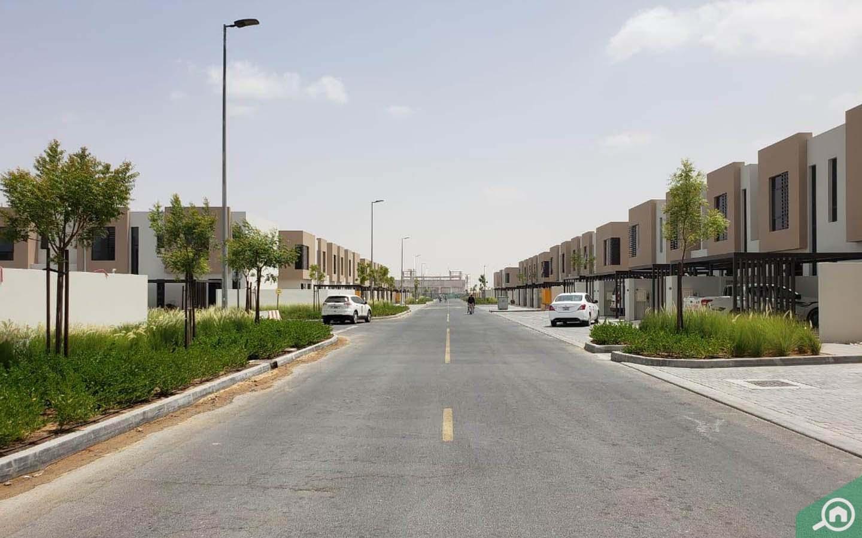 شارع في الطي