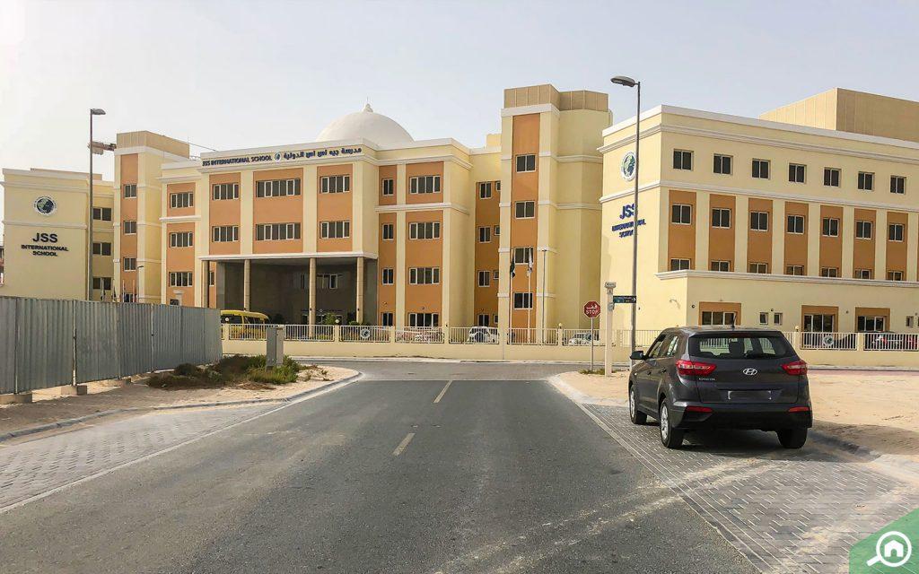 Outside view of JSS International School