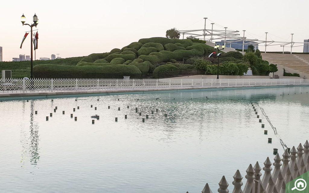 khalifa park in Abu Dhabi