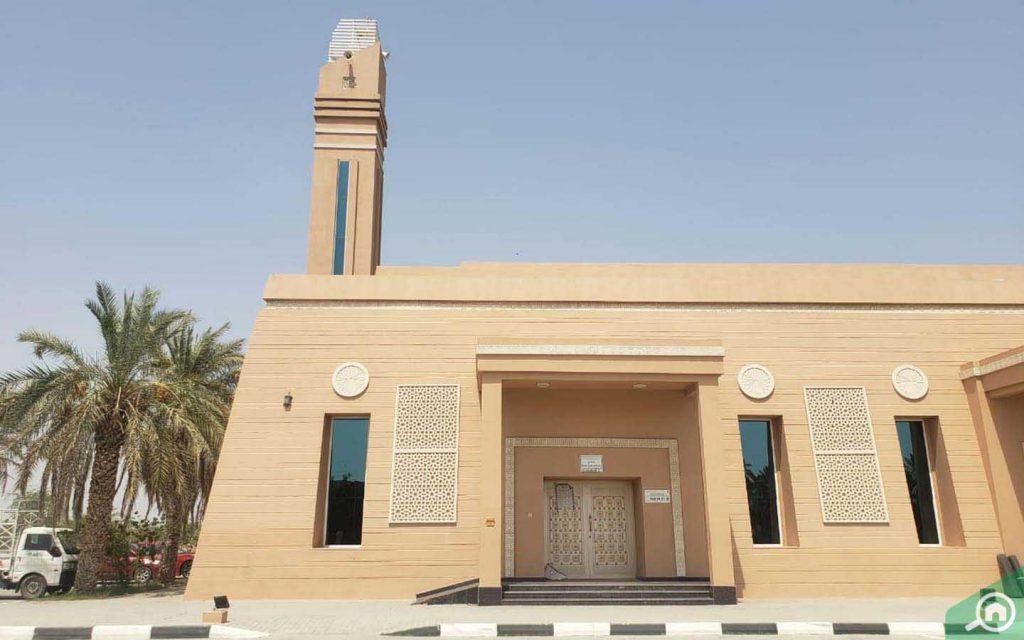 مسجد في الحيلو