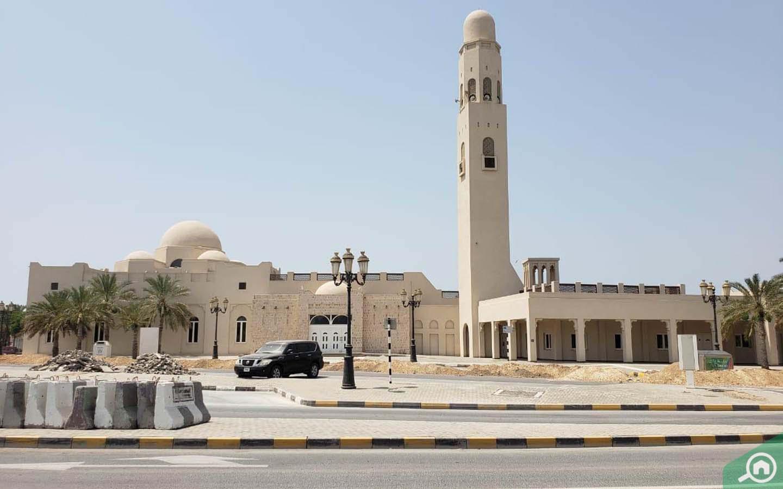 مسجد في المرقاب