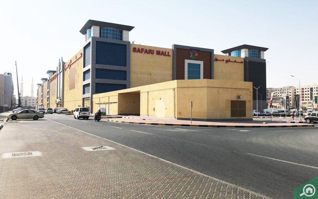 street views of safari mall sharjah