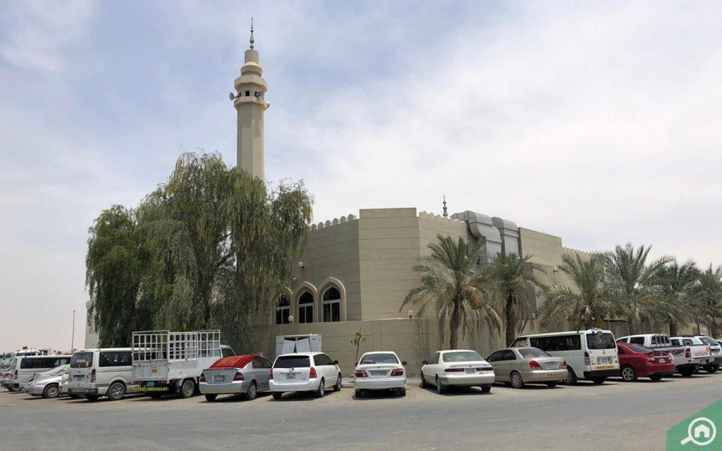 مسجد في الورسان