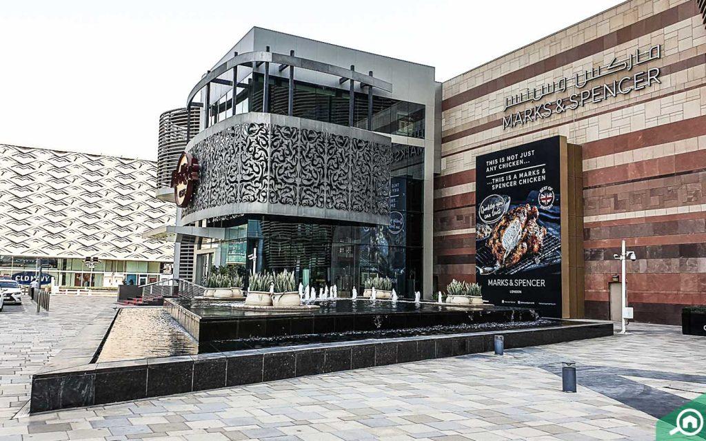 dubai festival city mall exterior