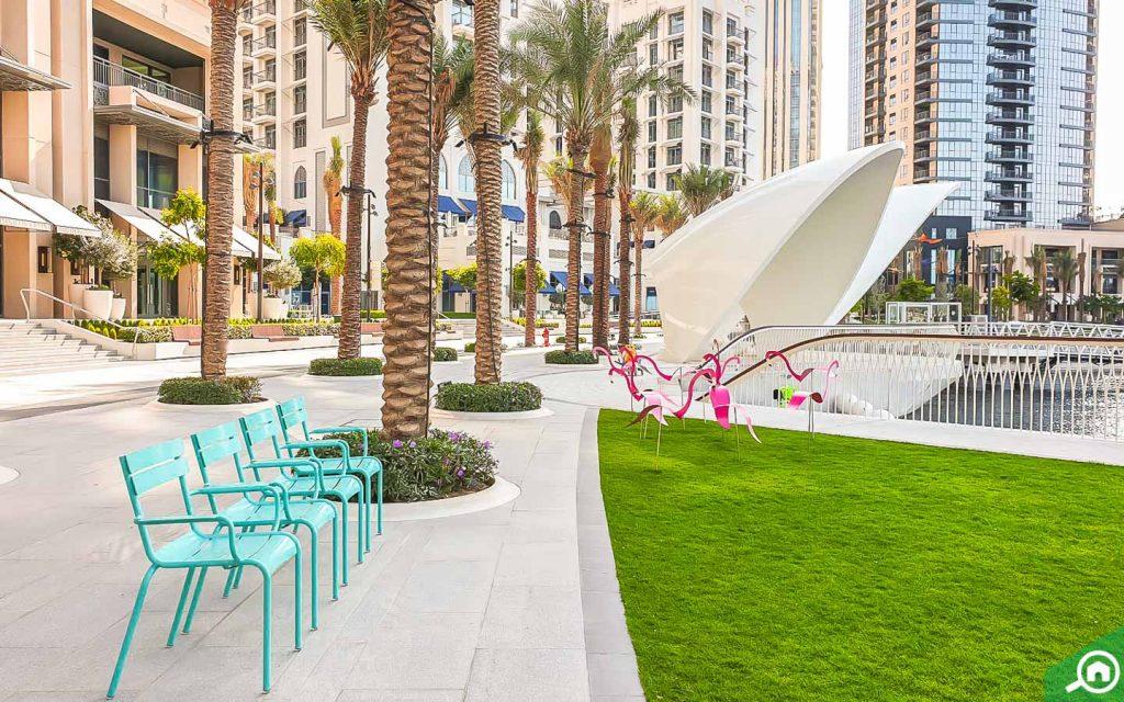 منطقة  ذا لاجونز دبي