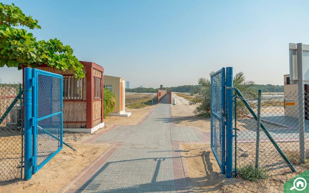 ras al khor wildlife sanctuary near al jaddaf