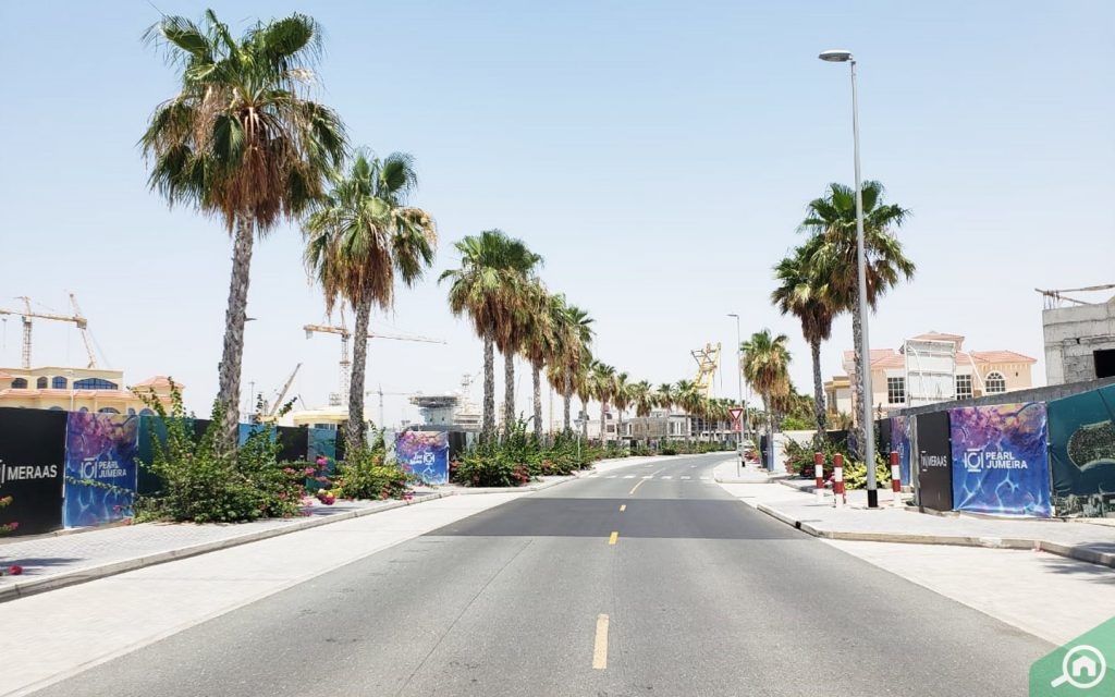 شوارع لؤلؤة جميرا