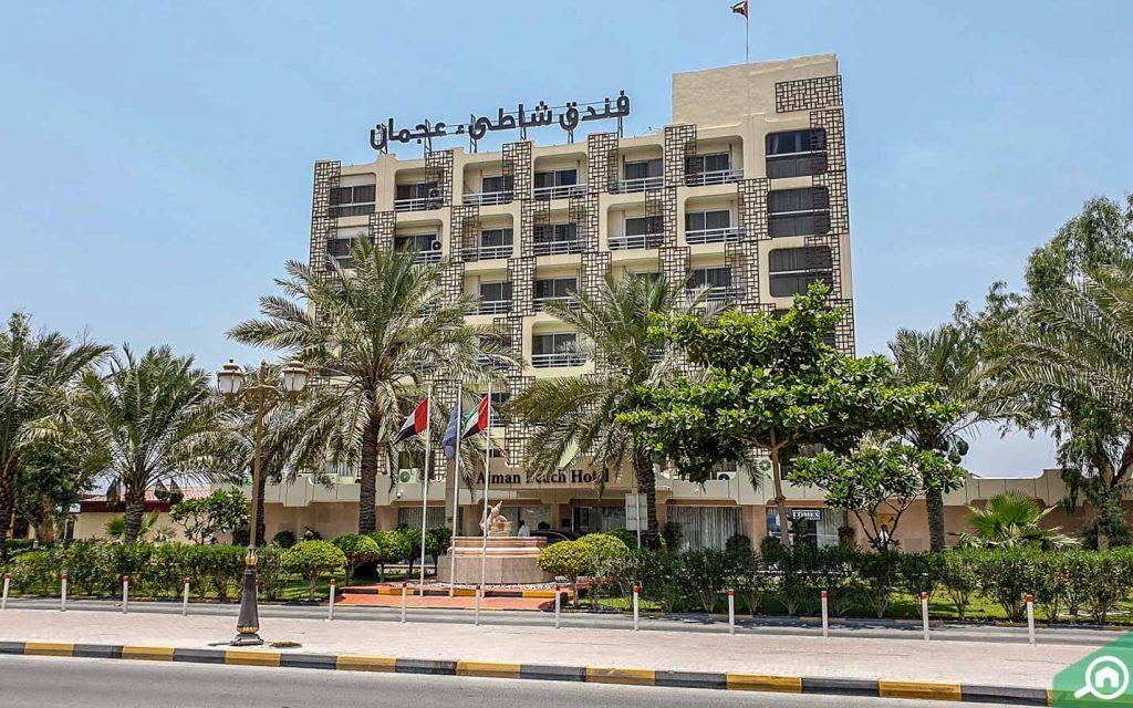 فندق عجمان بيتش