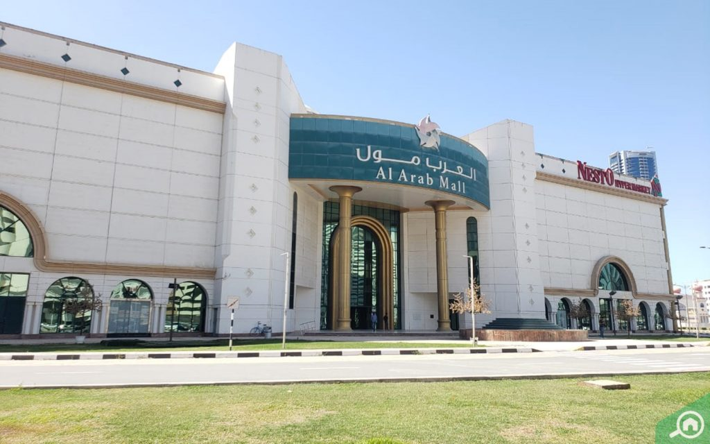 Al Arab Mall in Sharjah