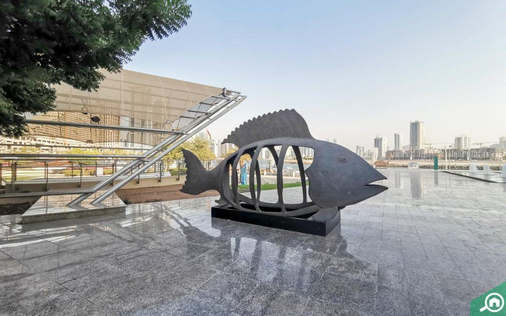 Exterior of  Sharjah Aquarium
