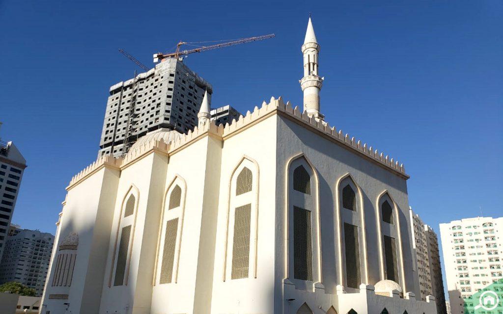 mosque in Al Mamzar