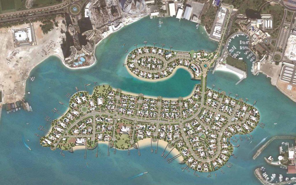 مخطط  جزيرة ناريل